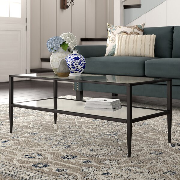Albie Coffee Table With Storage By Andover Mills