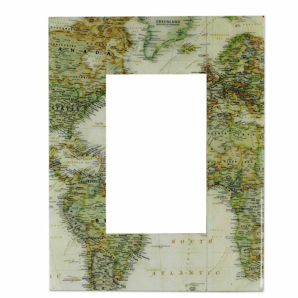 Globetrotter Decoupage Picture Frame by Novica