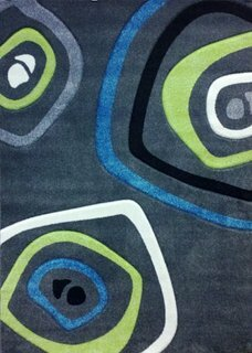 Studio Charcoal Area Rug by American Cover Designs