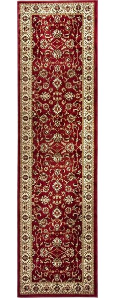 Belliere Sarouk Border Red Area Rug by Astoria Grand