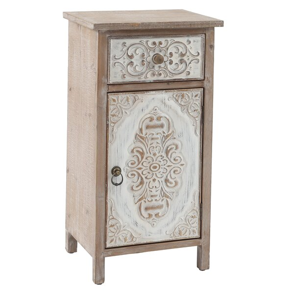 Emek End Table With Storage By August Grove