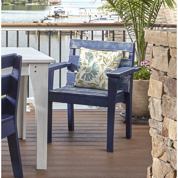 Destini Patio Dining Chair by Longshore Tides Longshore Tides