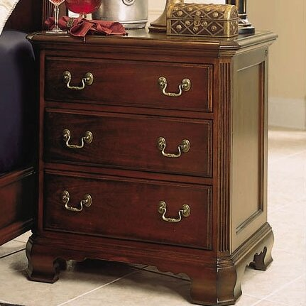Staas 3 Drawer Nightstand by Astoria Grand