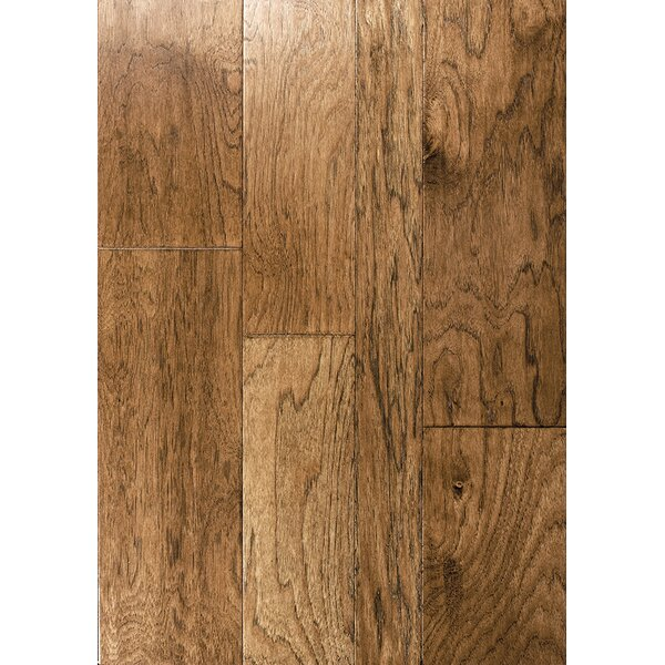 Catalan Random Width Engineered Hickory Hardwood Flooring in Madrid by Albero Valley