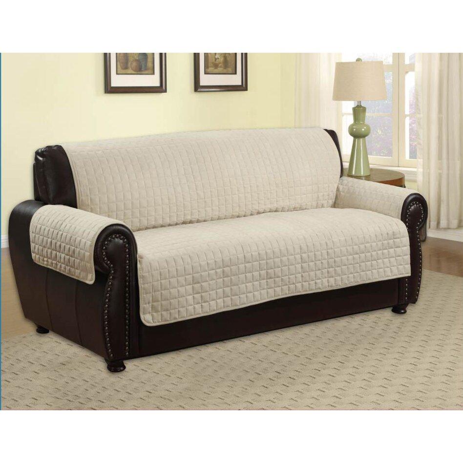 Kashi Home Microfiber Sofa Furniture Protector Reviews Wayfair