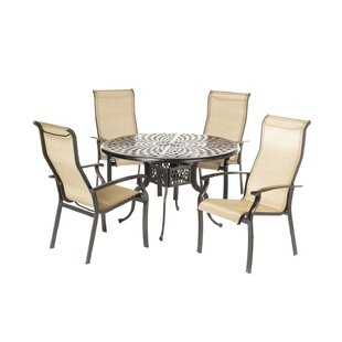 Charon Sling 5 Piece Dining Set By Fleur De Lis Living