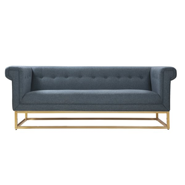 Dollman Button Tufted Sofa by Everly Quinn