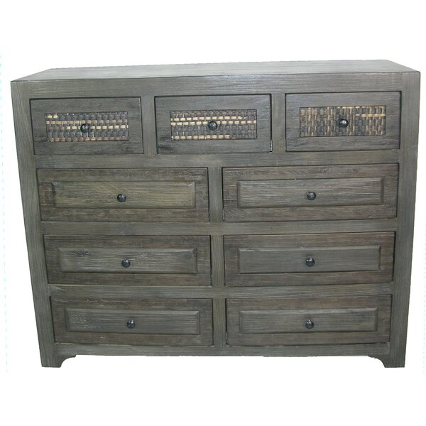 Goodwater 9 Drawer Dresser by Breakwater Bay