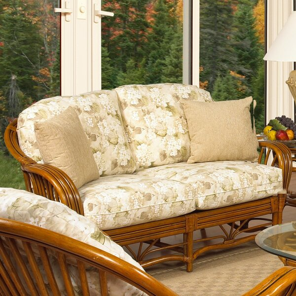 Antigua Loveseat by Boca Rattan