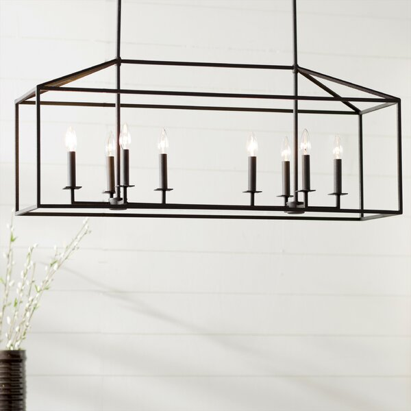 Odie 8-Light Kitchen Island Pendant by Laurel Foundry Modern Farmhouse