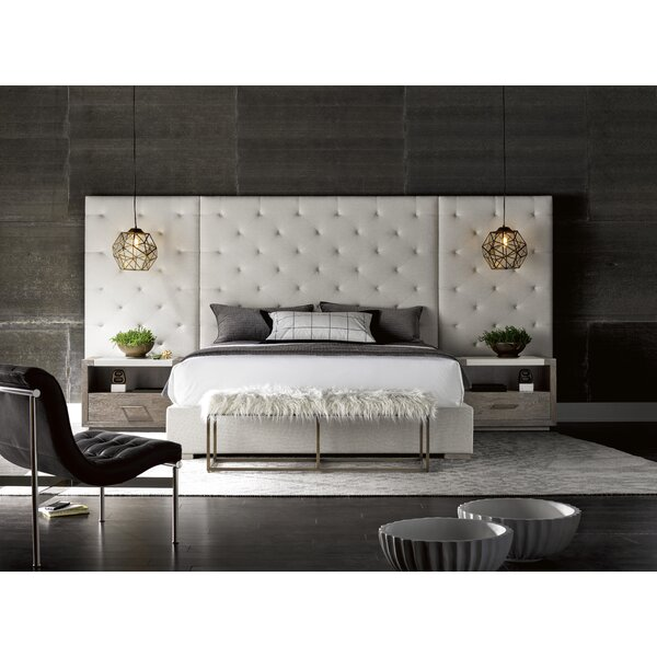 Flickinger Upholstered Standard Bed by Brayden Studio
