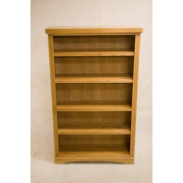 Curl 2 Shelf Traditional Standard Bookcase by Darby Home Co