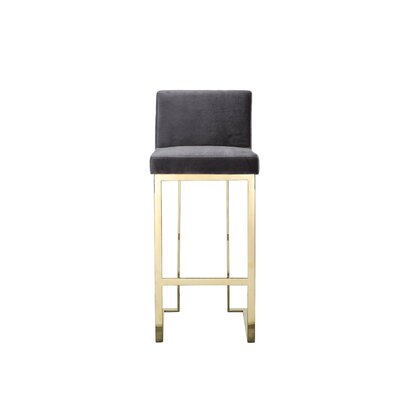 Wondrous Willa Arlo Interiors Dexter 30 Bar Stool Leg Color Gold Dailytribune Chair Design For Home Dailytribuneorg