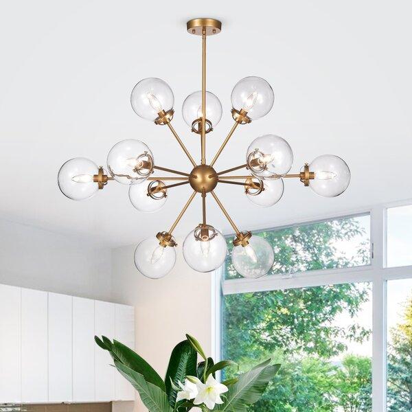 Natividad 12 - Light Sputnik Sphere Chandelier by Wrought Studio Wrought Studio