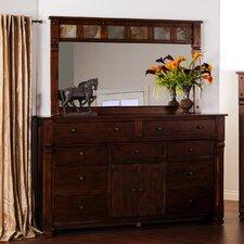 Fresno 9 Drawer Dresser with Mirror by Loon Peak