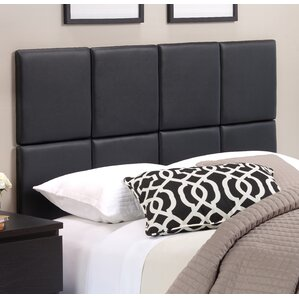 zanna upholstered panel headboard tile - Headboard And Bed Frame