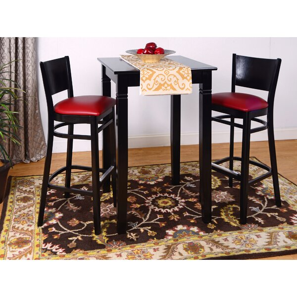 Irons 3 Piece Pub Table Set by Winston Porter