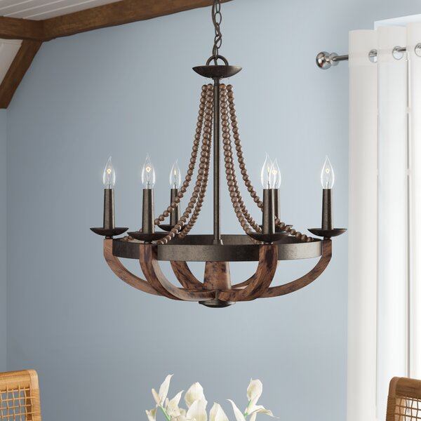Sylvie 6-Light Candle Style Empire Chandelier By Laurel Foundry Modern Farmhouse