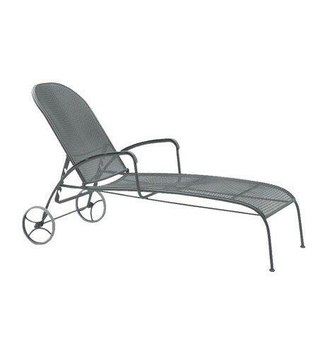 Valencia Reclining Chaise Lounge by Woodard Woodard