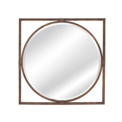 Modern Amp Contemporary Antique Brass Mirror Allmodern
