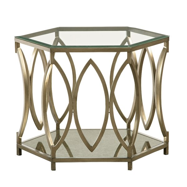 Dace End Table by Willa Arlo Interiors