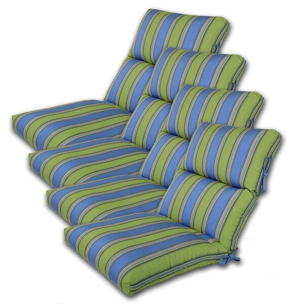 Indoor/Outdoor Sunbrella Chair Cushion (Set of 4)