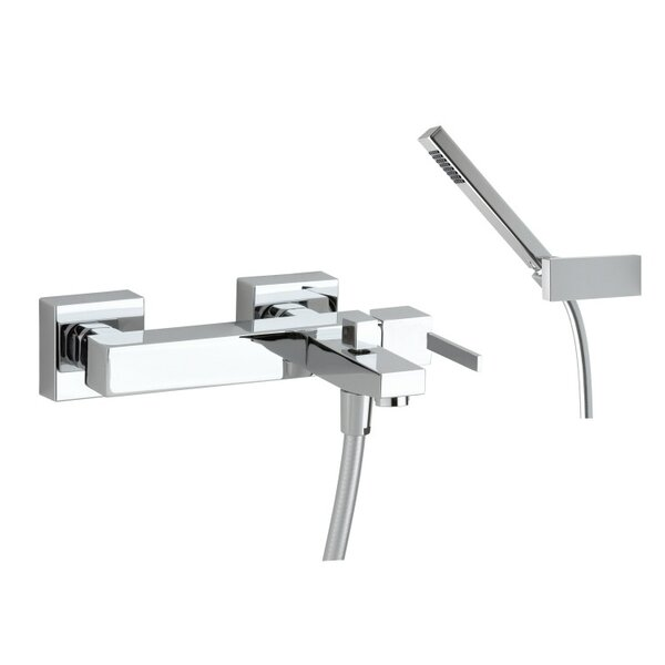 Kuatro Plus Square Bath Shower Mixer by Roman Soler by Nameeks