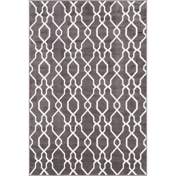 Ronna Dark Gray Indoor/Outdoor Area Rug by Brayden Studio