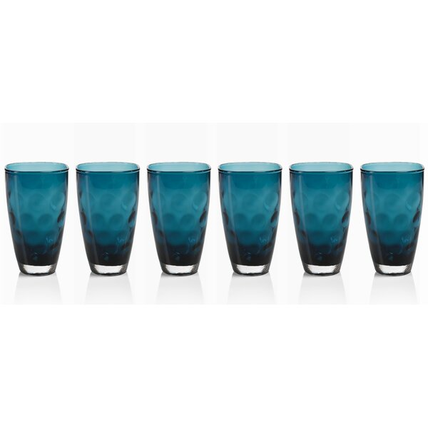 Maclean Highball Glass (Set of 6) by Brayden Studio