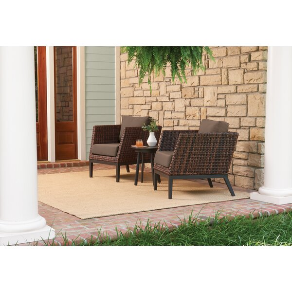 Cammack 3 Piece Seating Group with Cushions by Beachcrest Home
