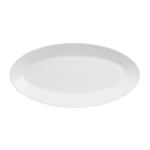 White Oval Platter by Jasper Conran by Wedgwood