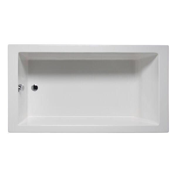 Wright 72 x 32 Drop in Soaker Bathtub by Americh