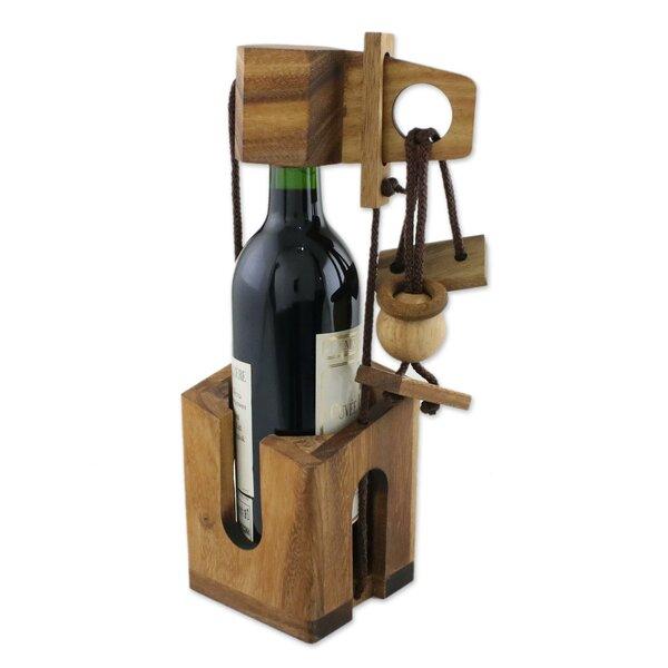Mckissick Dont Break Tabletop Wine Bottle Rack by Millwood Pines