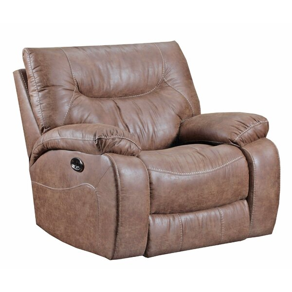 Simmons Upholstery El Capitan Power Rocker Recliner by Loon Peak