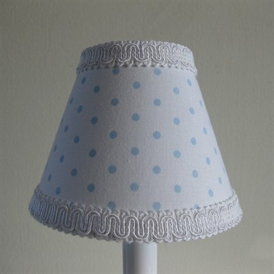 Rocking Dots 11 Fabric Empire Lamp Shade by Silly Bear Lighting
