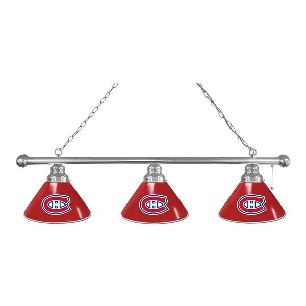 NHL 3-Light Kitchen Island Pendant by Holland Bar Stool