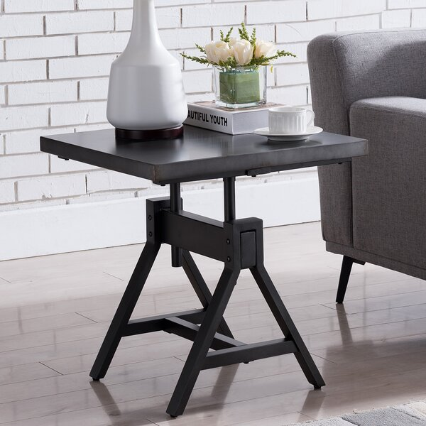 Tobias End Table By 17 Stories Sale