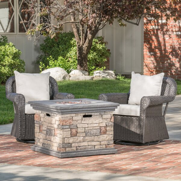 Melinda Patio Chair with Cushion by Darby Home Co Darby Home Co