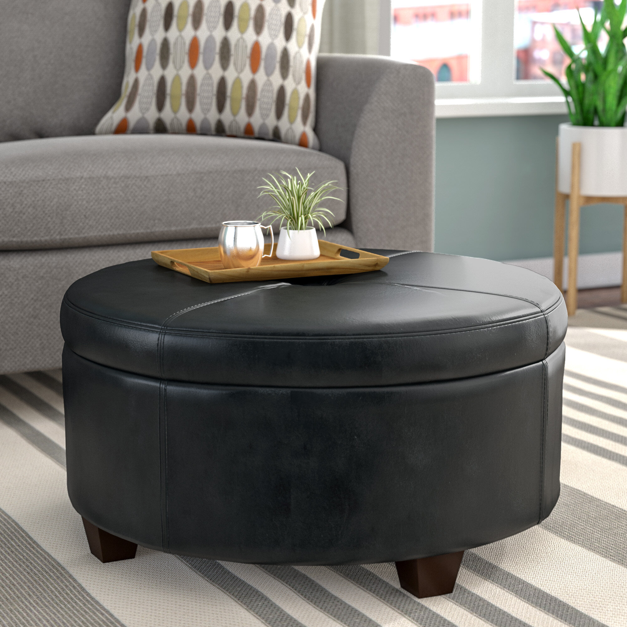 Awesome Dalila Tufted Cocktail Ottoman Pabps2019 Chair Design Images Pabps2019Com