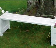 Keevan Square Plastic Bench By Winston Porter