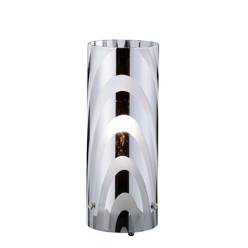 24 cm Tischleuchte Lasell 17 Stories | Lampen > Tischleuchten > Beistelltischlampen | Muster | Metall | 17 Stories