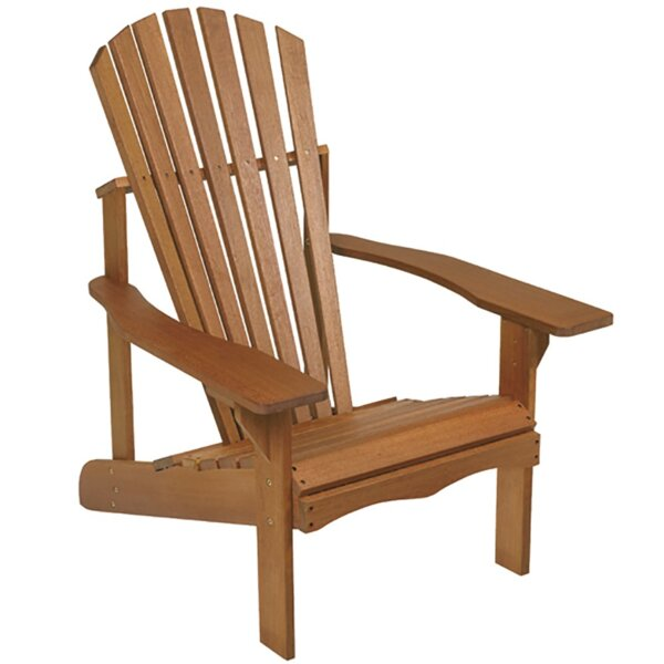 Phat Tommy Lodge Wood Adirondack Chair by Buyers Choice