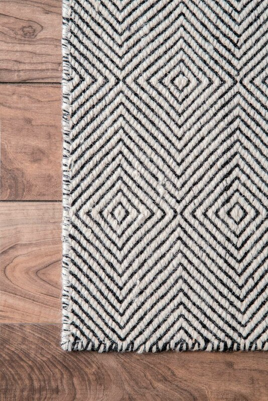 Mercury Row Marcelo Hand Woven Ivory Area Rug Amp Reviews