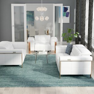 Modern & Contemporary 3 Piece Living Room Set | AllModern