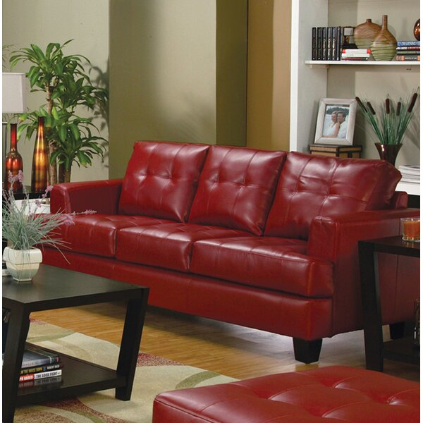 Ptolemy Three Seat Sofa by Charlton Home