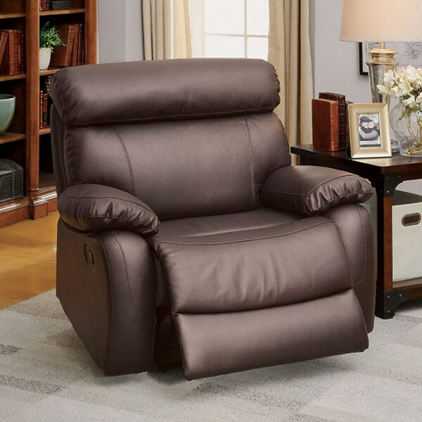 Keitez Manual Rocker Recliner [Red Barrel Studio]