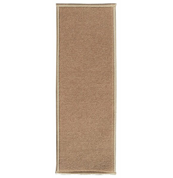 Fagaras Solid Beige Stair Tread (Set of 14) by Winston Porter
