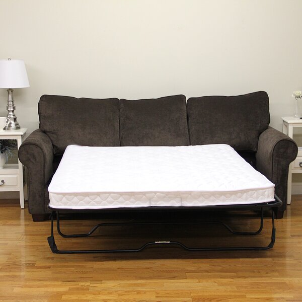 4.5 Plush Sofa Bed Mattress by Classic Brands