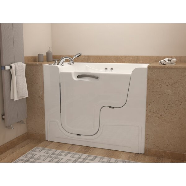 Mohave 53 x 29 Whirlpool Jetted Wheelchair Accessible Bathtub by Therapeutic Tubs