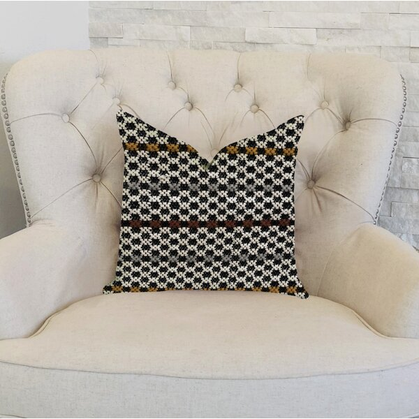 Glennon Woven Luxury Pillow by Bloomsbury Market